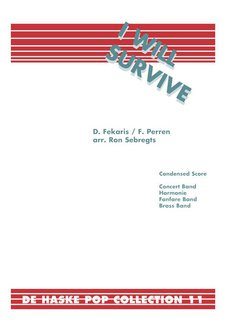 I Will Survive - Set (Partitur + Stimmen)