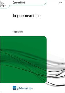 In your own time - Partitur