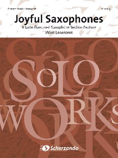 Joyful Saxophones - Set (Partitur + Stimmen)