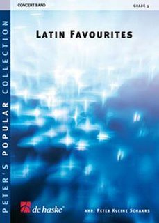 Latin Favourites - Partitur
