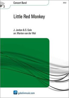 Little Red Monkey - Partitur