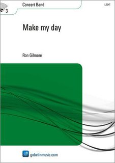 Make My Day - Partitur