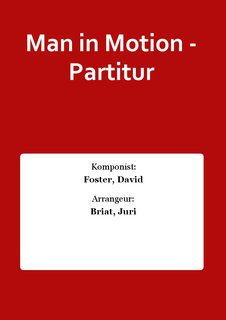 Man in Motion - Partitur