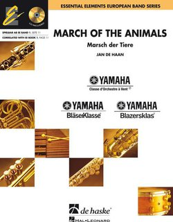 March of the Animals - Set (Partitur + Stimmen) + CD