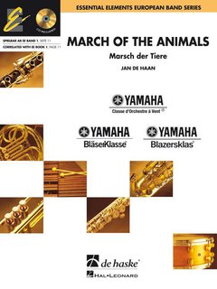 March of the Animals - Partitur + CD