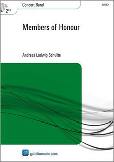 Members of Honour - Partitur