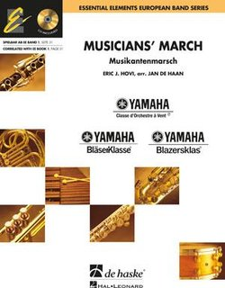 Musicians March - Partitur + CD