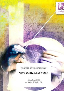 New York, New York - Partitur
