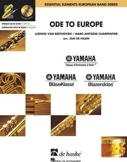 Ode to Europe - Set (Partitur + Stimmen) + CD