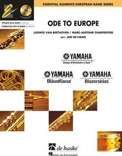 Ode to Europe - Partitur + CD
