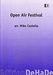 Open Air Festival - Set (Partitur + Stimmen)