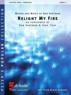 Relight My Fire - Partitur
