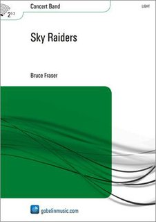 Sky Raiders - Partitur