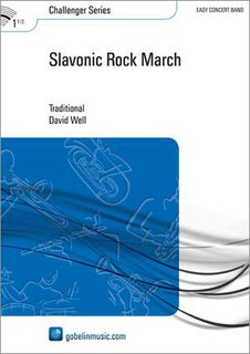 Slavonic Rock March - Partitur