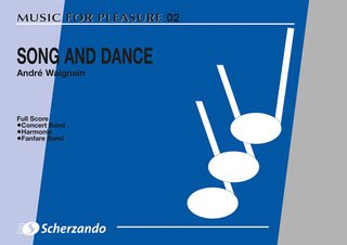 Song and Dance - Partitur