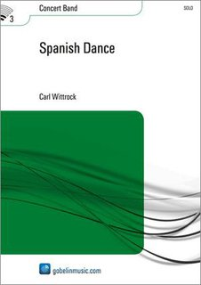 Spanish Dance - Partitur