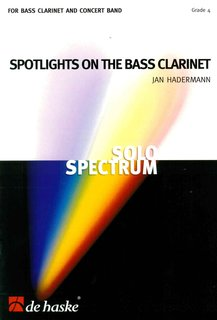Spotlights on the Bass Clarinet - Set (Partitur + Stimmen)