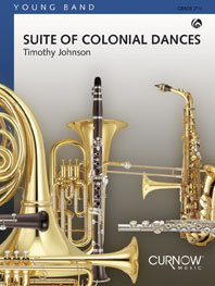 Suite of Colonial Dances - Set (Partitur + Stimmen)