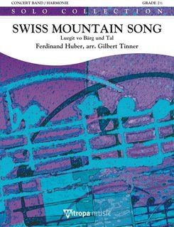 Swiss Mountain Song - Partitur