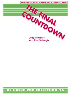 The Final Countdown - Set (Partitur + Stimmen)