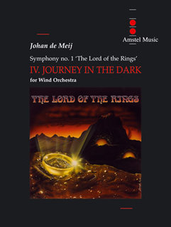 The Lord of the Rings (IV) - Journey in the Dark - Set (Partitur + Stimmen)