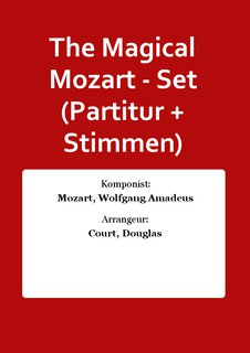 The Magical Mozart - Set (Partitur + Stimmen)