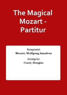 The Magical Mozart - Partitur