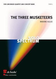 The Three Musketeers, Op. 8 - Partitur