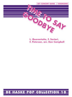 Time To Say Goodbye - Set (Partitur + Stimmen)