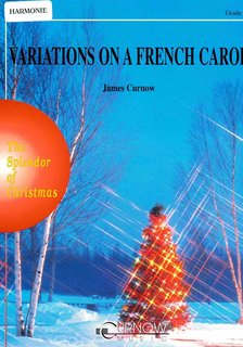 Variations on a French Carol - Partitur