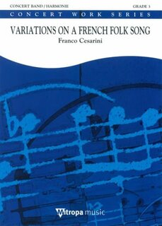 Variations On A French Folksong - Partitur