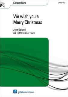 We wish you a Merry Christmas - Partitur