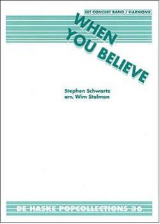 When You Believe - Set (Partitur + Stimmen)
