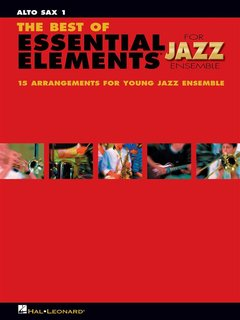 The Best of ESSENTIAL ELEMENTS for Jazz Ensemble - Altsaxophon 1