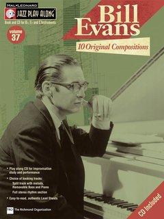 Hal Leonard Jazz Play Along: Bill Evans