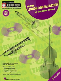 Hal Leonard Jazz Play Along: More Lennon and McCartney