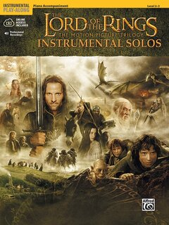 The Lord of the Rings Instrumental Solos - Piano Accompaniment