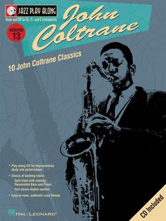 Jazz Play Along: Volume 13 - John Coltrane