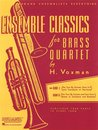 Ensemble Classics for Brass Quartet - Book 1