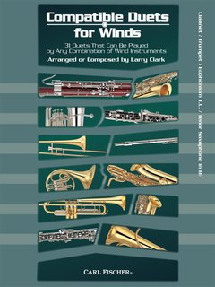 Compatible Duets for Winds - Clarinet, Trumpet, Euphonium T.C....