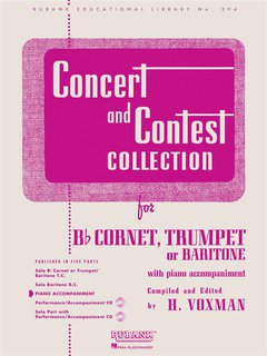 Concert and Contest Collection for Trumpet or Baritone/Euphoni...
