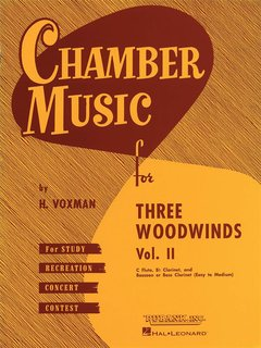 Chamber Music for Three Woodwinds - Volume 2