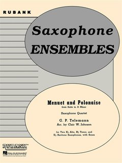 Menuet and Polonaise (from Suite in A Minor)