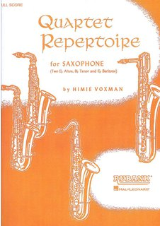 Quartet Repertoire for Saxophon - Partitur
