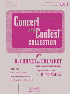 Concert and Contest Collection for Trumpet or Baritone - Solo ...