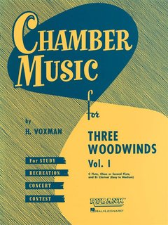 Chamber Music for Three Woodwinds - Volume 1
