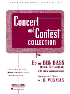 Concert and Contest Collection for Tuba - Solo book