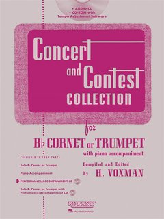 Concert and Contest Collection for Trumpet - CD