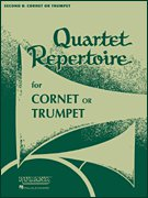 Quartet Repertoire for Cornet or Trumpet - Partitur