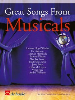 Great Songs from Musicals - Alt-/Tenorsaxophon